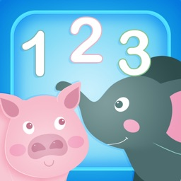 123 Numbers: Animals - Learn to Count