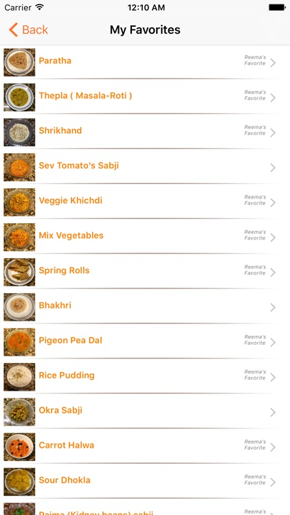 Indian Vegetarian Recipes (INRecipes) screenshot-2