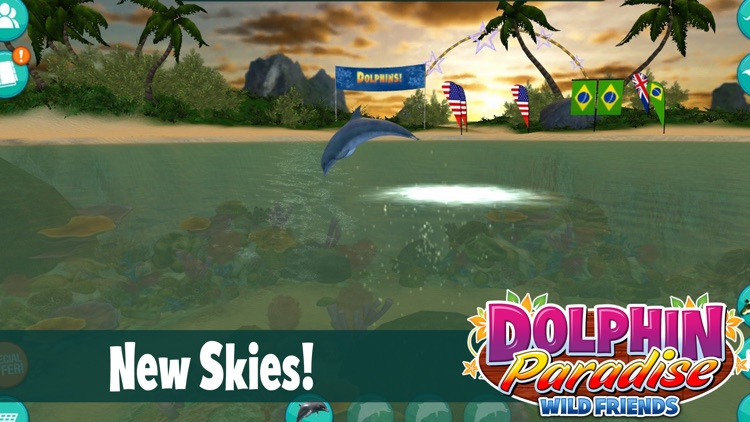 Dolphin Paradise: Wild Friends screenshot-1