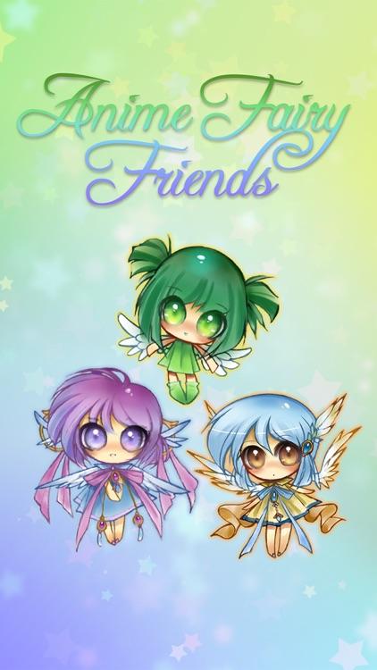 Anime Fairy Stickers