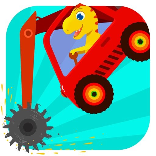 Dinosaur Digger - Truck Simulator Games For Kids