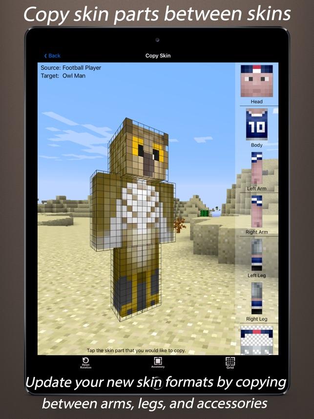 Skin Creator D For Minecraft Im App Store - Minecraft skin editor jetzt spielen