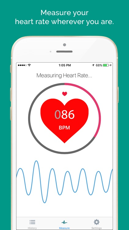 Instant Heart Rate Monitor HRM