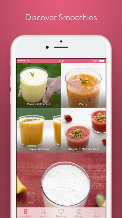 Filibaba Smoothies – Refreshing and Tasty Drinks screenshot-0