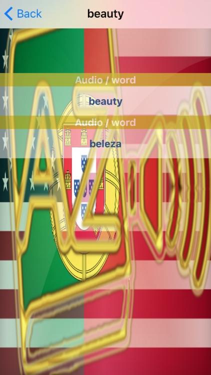 Portuguese Dictionary GoldEdition screenshot-4