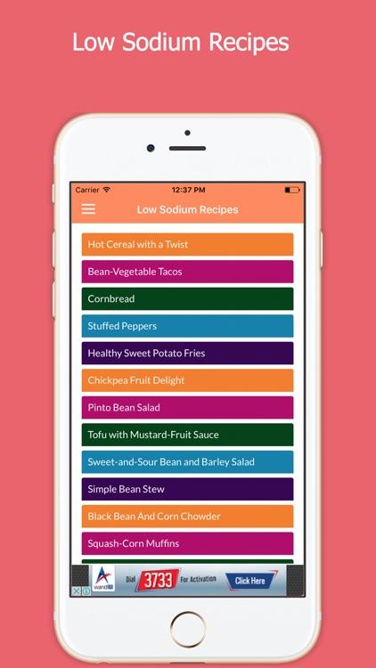 Low Sodium Foods screenshot-4