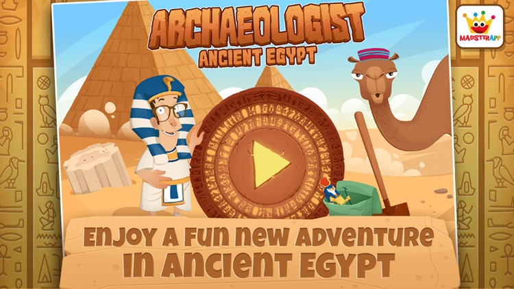 Archaeologist Egypt: Kids Games & Learning Free screenshot-0