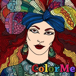 ColorMe - Relaxing Colouring Book for adults