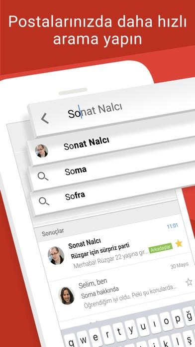 Screenshot for Gmail - Google'dan e-posta in Turkey App Store