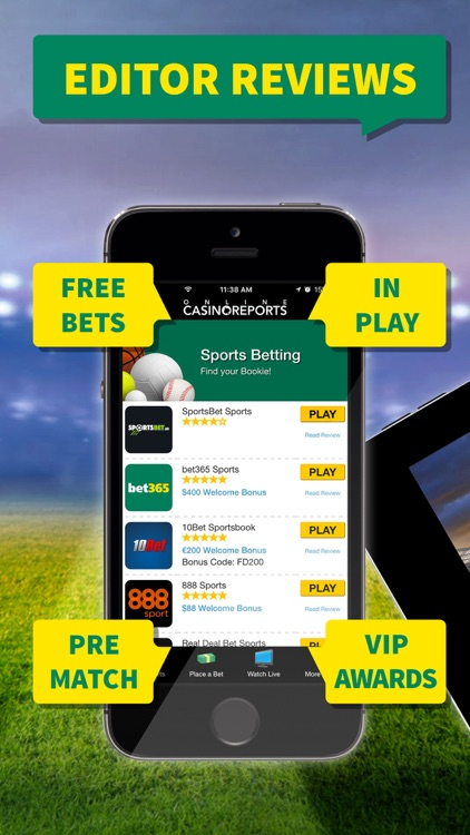 Sports Betting Bookies - Your Local Sportsbook screenshot-2