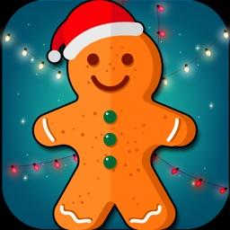 Gingerbread Man-Little Girls & Kids Chef Game