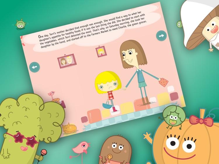 Terri at the Market - Interactive book for Kids screenshot-4