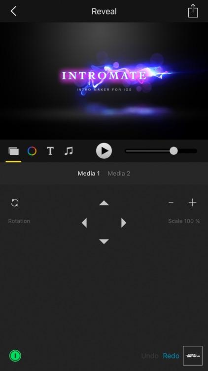 IntroMate - Video Intro Maker screenshot-0