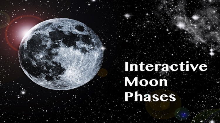 Interactive Moon Phases - Lunar Cycle and Calendar screenshot-3