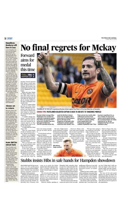 Press And Journal Moray screenshot-3