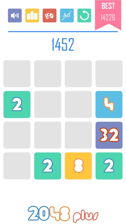 2048 Plus 1010 Style: Power of Two! screenshot-3