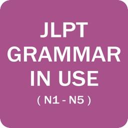 JLPT Grammar (N1,N2,N3,N4,N5)