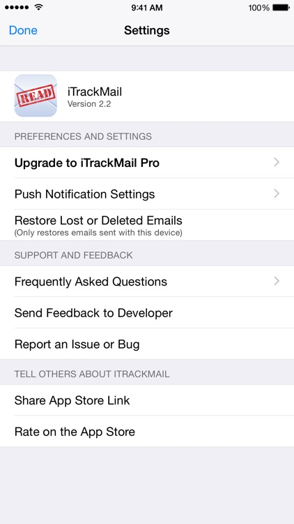 iTrackMail - Easy Email Tracking and Read Receipts screenshot-4
