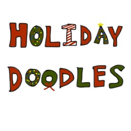Holiday Doodle Stickers