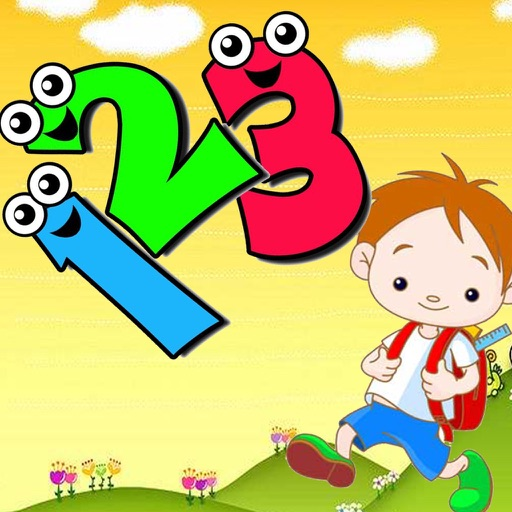 123 fun - Numbers and counting education game iOS App