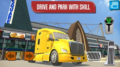 Delivery Truck Driver Highway Ride Simulator App 截图