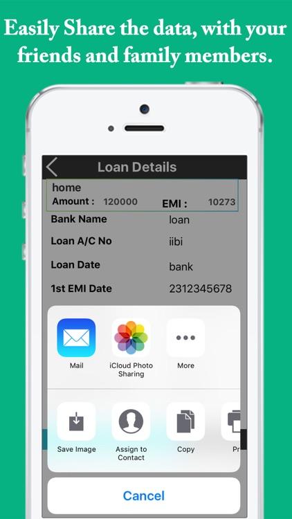 EMI Calculator - Easy EMI,Loan,Interest Calculator screenshot-4