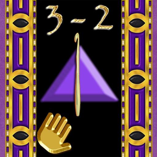 Secrets 3-2, PATTCAST (Lefties): Pyramid crochet!
