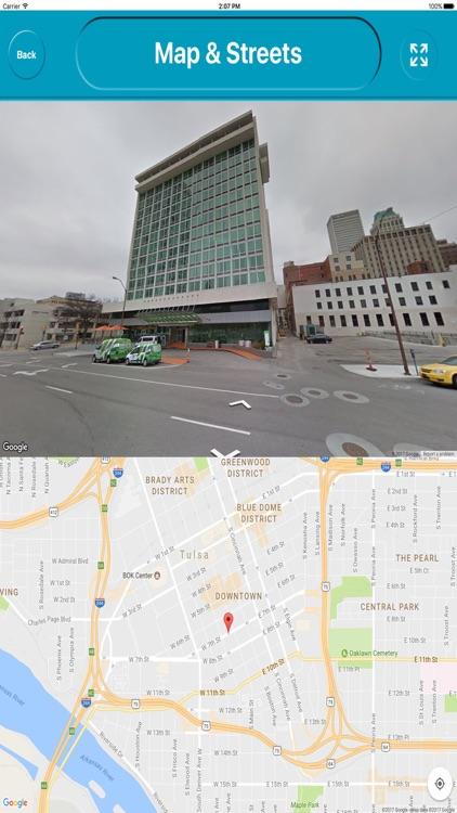 Tulsa Oklahoma Offline City Maps Navigation screenshot-4
