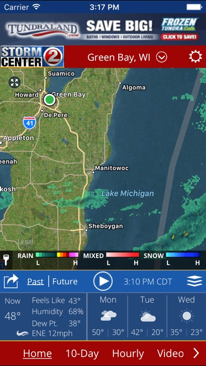 WBAY WEATHER - StormCenter 2 On the Go