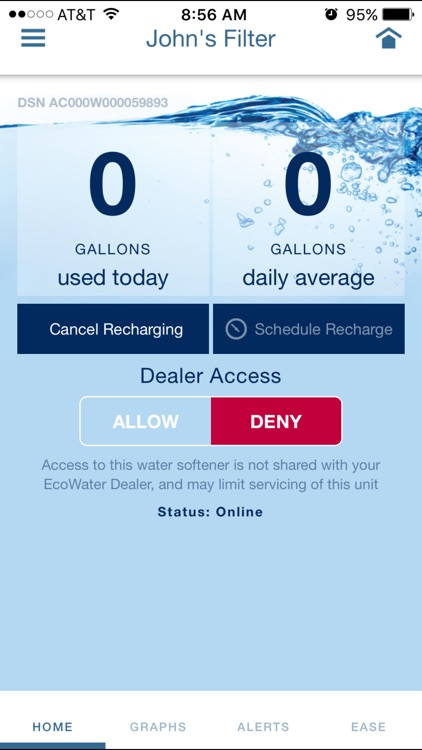 EcoWater Systems Wi-Fi Manager