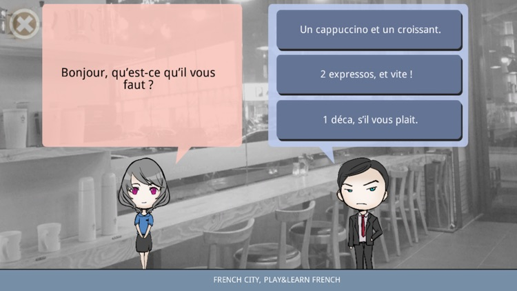 French city, play&learn French screenshot-4