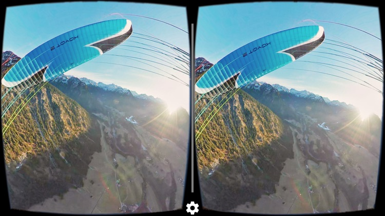 VR Alpine Adventures Paragliding Virtual Reality