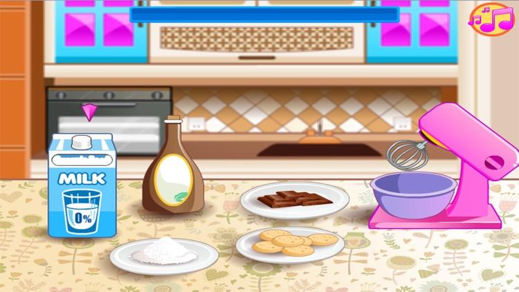 Wedding Chocolate Cake Maker Games for kids screenshot-3