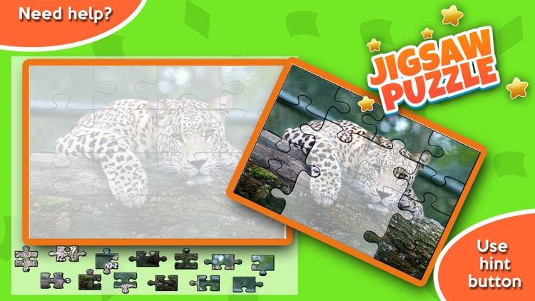 Animal Jigsaw Puzzle - Free Puzzle Games screenshot-3