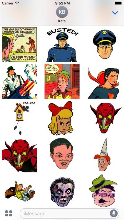 Retro Comic Book