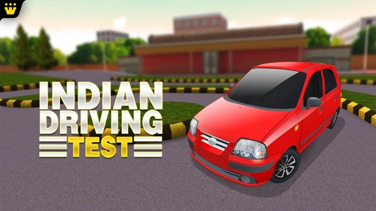 Indian Driving Test - Car Driving Simulator 3D screenshot-4