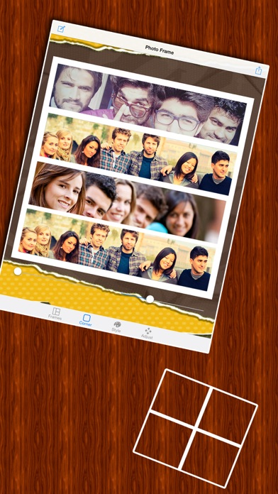 Insta Collage Photo Editor & Pic Frame screenshot 3