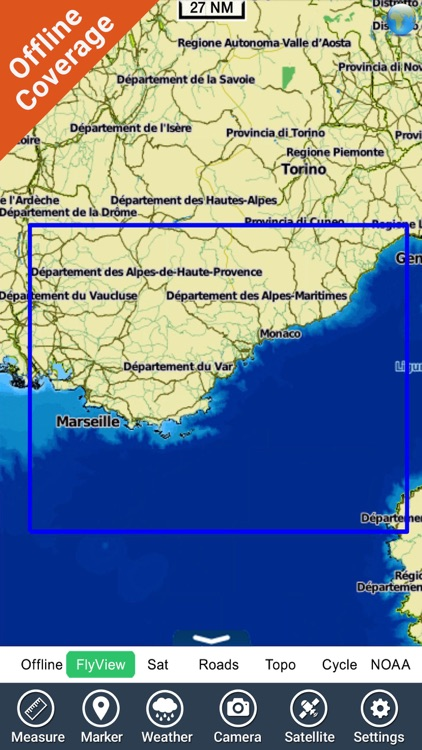 French Riviera Nautical Charts screenshot-4