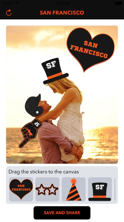San Francisco Baseball Stickers & Emojis