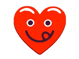 Heart Red Love Emojis Stickers for iMessage