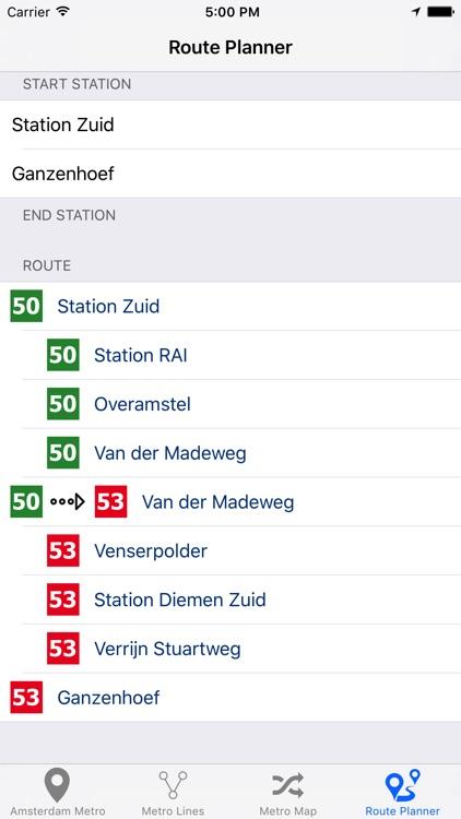 Amsterdam Metro - Subway