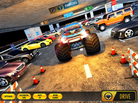multi storey monster truck parking simulator 2017 app price drops