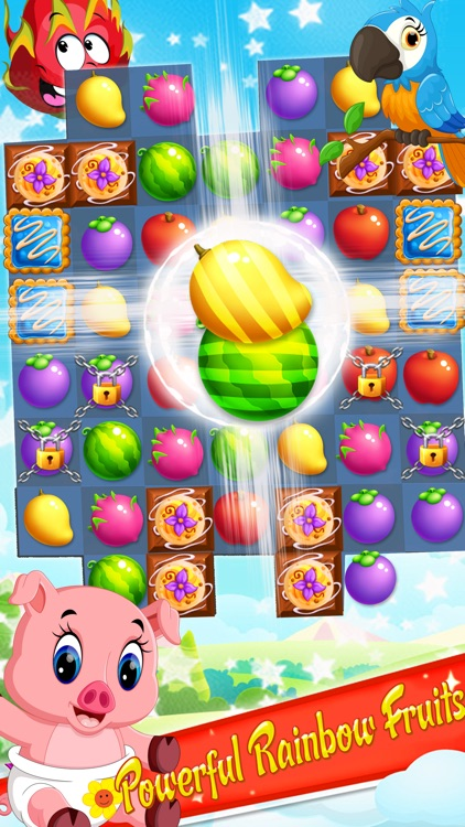 Fruit Garden Mania - Match 3 screenshot-4