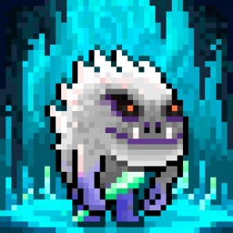 Monster Run. Free pixel-art platformer