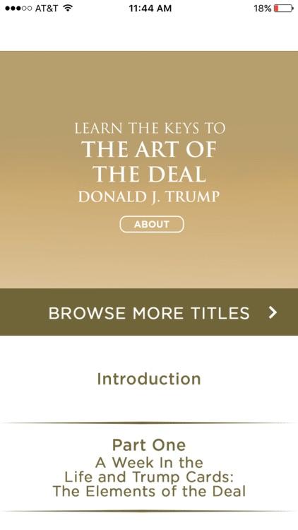 Art Of The Deal Meditation Audiobook -Donald Trump