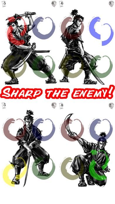 Legend of Musashi〜tap tap trick! screenshot two