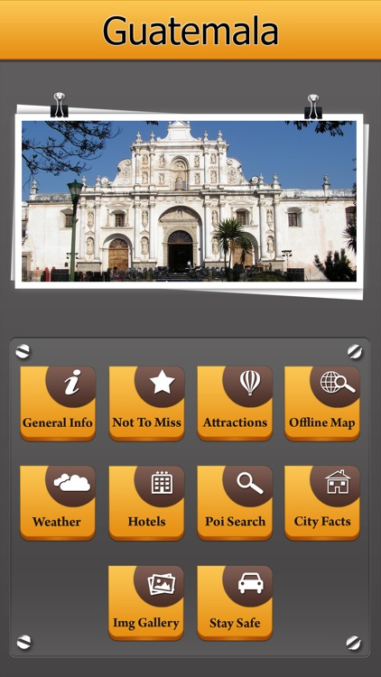 Guatemala Offline Map City Guide screenshot-0