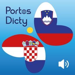 PortosDicty korisne hrvatsko slovenske fraze sa  zvučnim snimcima od gornica slovenskog jezika/Uporabne hrvaško slovenske fraze