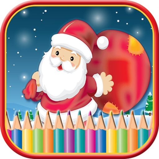 Kids Doodle Drawing Pad - Christmas Coloring