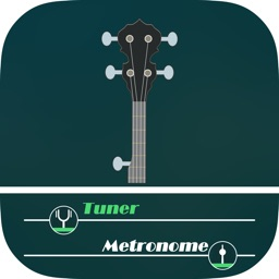 Banjo tuner and metronome - bass banjo tuner tools